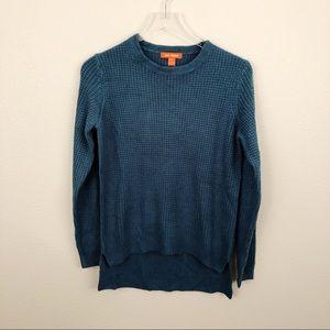 Joe Fresh NWT Teal Sweater Sz XS